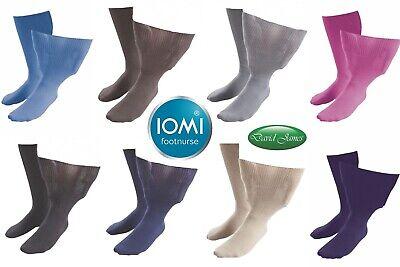 Extra Wide Calze Unisex Edema Sockshop Iomi Footnurse 4 Taglie/8 Colori-mostra Il Titolo Originale Per Garantire Una Trasmissione Uniforme