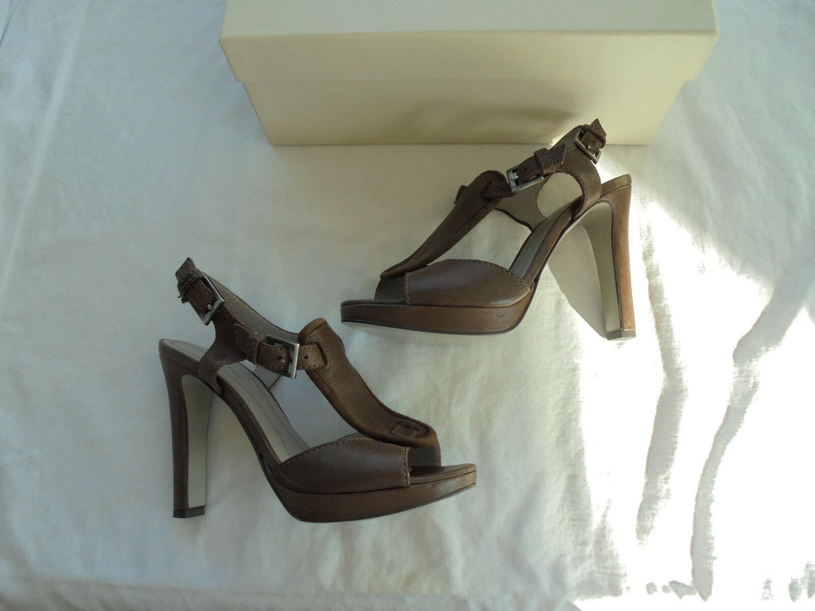 NEU Hugo Boss Leder High Heels Sandaletten NP:  + OVP Sandaletten Heels Pumps Schuhe Gr. 37 c8ea85