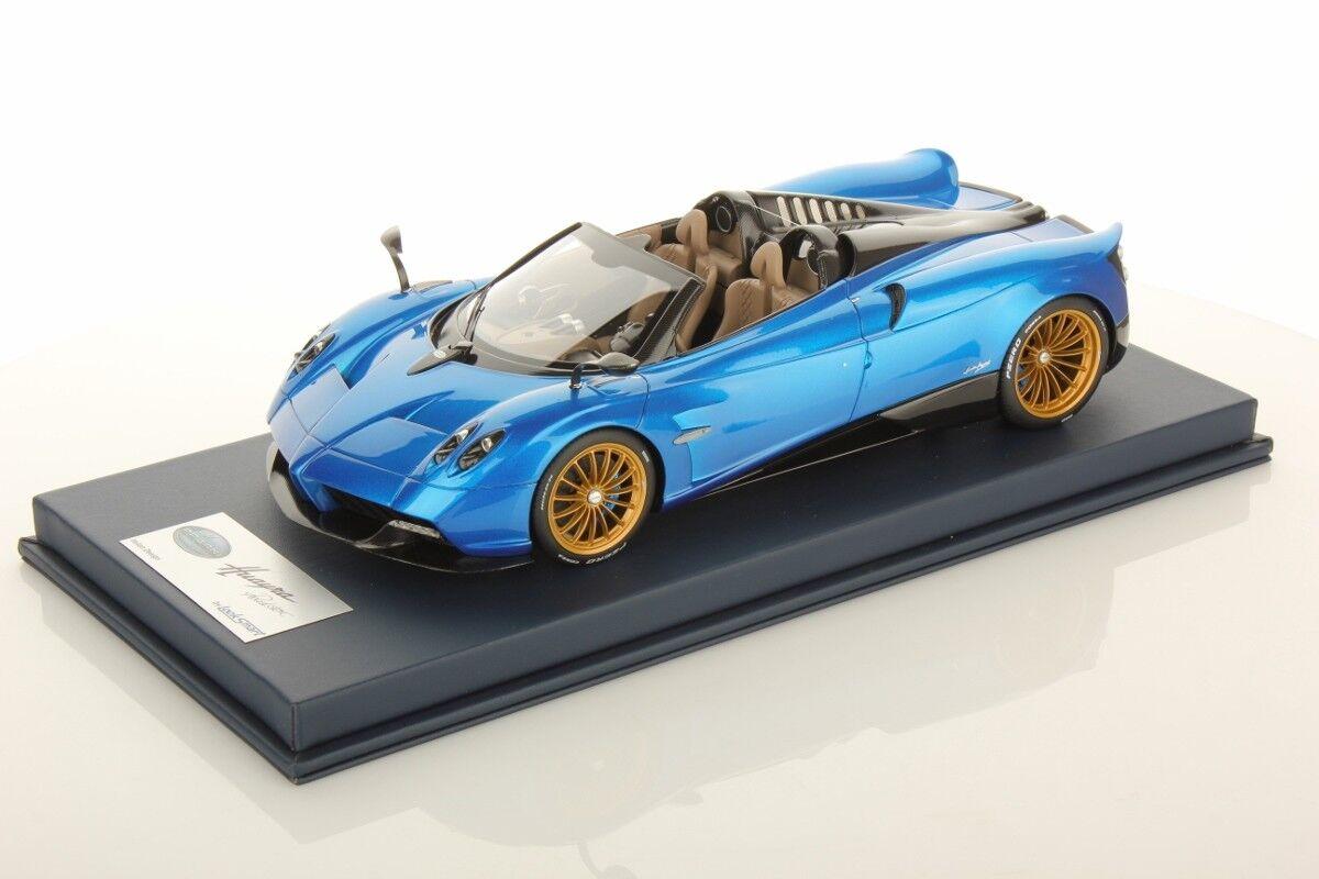 Pagani Huayra Roadster Red Metallic, bluee, bluee, bluee, gold, Green - w  Case LookSmart 1 18 8e6a4f