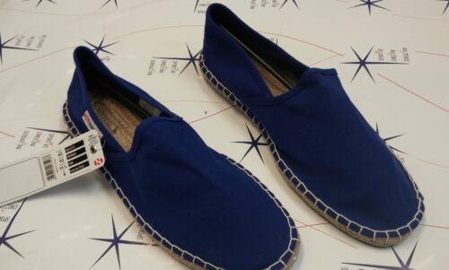 donna cotu Superga Espadrillas scarpe Intense Blue 4524 g88 uomo