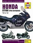 Honda ST1100 Pan European V-Fours Motorcycle Service and Repair Manual by Haynes Publishing Group (Paperback, 2015)