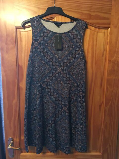 New Look Dress Size 16 Bnwt