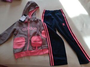 Adidas-Originals-Set-Veste-amp-Short-Filles-Gr-116