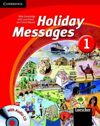 Holiday Messages 1 Student's Book with Audio CD Italian Edition, Gammidge, Micha