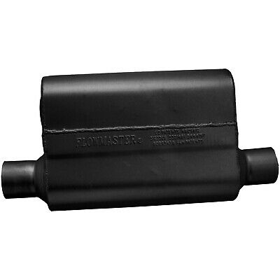 Flowmaster 842543 40 Delta Muffler 409S 2.50 Offset IN 2.50 Offset OUT Aggressive Sound