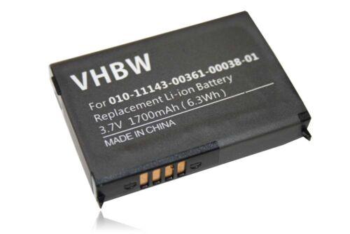 660 Europa 650 Original VHBW ® batería 1.700mah para Garmin zumo 600 660lm