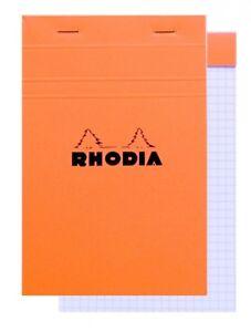 Rhodia-Staplebound-Notepad-Orange-Graph-80-Sheets-4-375-x-6-375