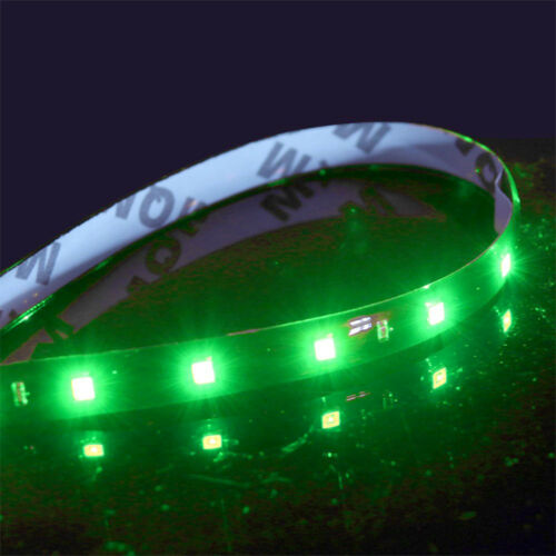 15 LED Auto Motor Lichter High Power Streifen Flexible Wasserdicht DC 12V 6x30cm