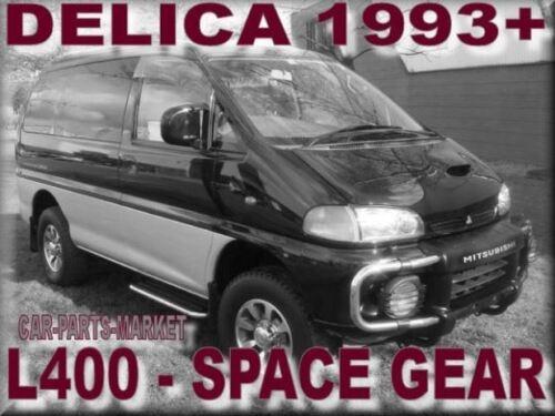 Right Driver Side Wing Mirror Glass for MITSUBISHI l400 Delica 1995-2005