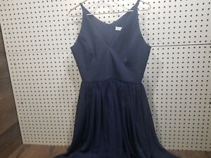 Dress-the-Population-Women-039-s-Alicia-Plunging-Sleeveless-Midi-Dress-Medium-NEW