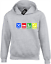COL EAT SLEEP CRICKET HOODY HOODIE FUNNY PLAYER BATSMAN BOWLER ENGLAND GIFT