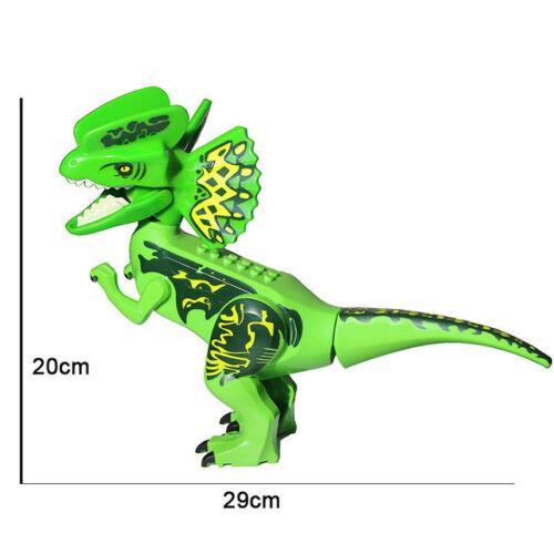 Jurassic World Large Dinosaur  Figure Block Fit Lego Toys Set Kids surprise Gift