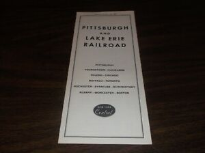 OCTOBER-1961-P-amp-LE-PITTSBURGH-amp-LAKE-ERIE-NYC-SYSTEM-PUBLIC-TIMETABLE
