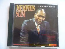 MEMPHIS SLIM - I AM THE BLUES - 14 TRK FREEPOST CD [MINT]