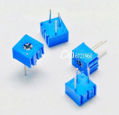 10PCS 3362P-103 3362 P 10K ohm High Precision Variable Resistor Potentiometer