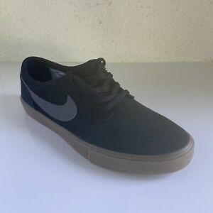 Nike sb Portmore Zapato-Negro-Talla 11