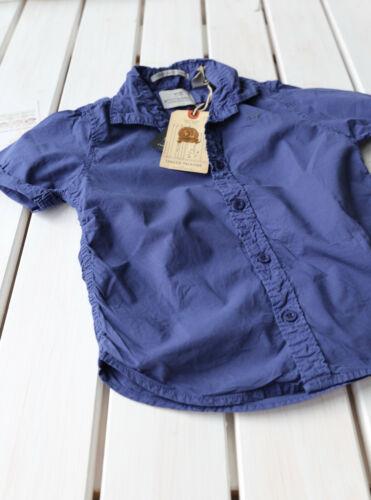 sale/%/%/% SCOTCH Shrunk-sommercotton Cotone Camicia a maniche corte blu 4-14 Nuovo