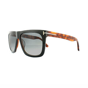 db1a200e36 Tom Ford Sunglasses 0513 Morgan 05B Black Havana Grey Gradient ...
