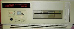 Desktop PC 80286 16MHz 4mb ram