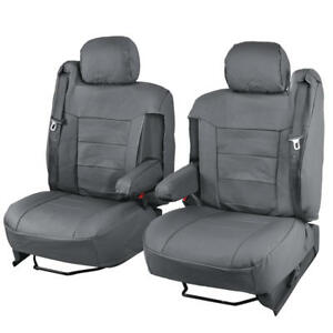 Image Is Loading Luxury Thick Leatherette Car Seat Covers For Armrests
