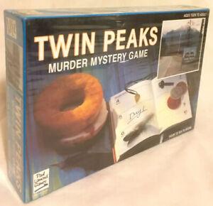 Twin-Peaks-Murder-Mystery-Board-Game-1991-Paul-Lamond-Brand-New-Sealed-Rare