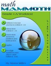 Math Mammoth Grade 1-A Worktext by Maria Miller (2014, Paperback)