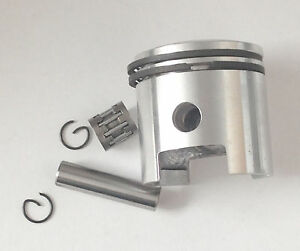 "66 / 80cc motor bike - needle bearing piston rings, pin, clip 1 1/16"" HIGH HOLE"