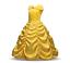 Girls  Beauty and the Beast Dress kids Princess Belle Dress UP Set Gift 2-8T MG