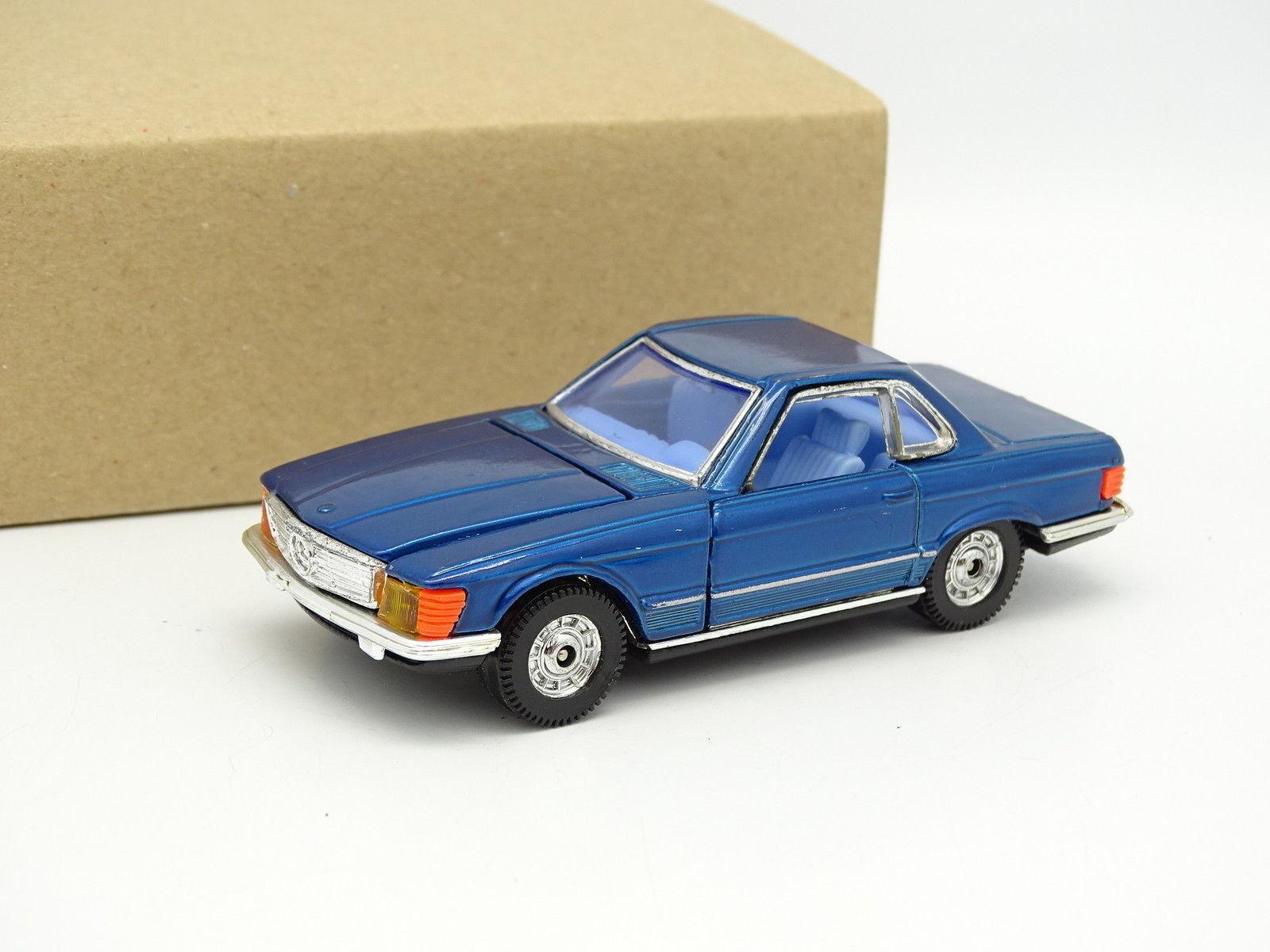 Corgi Corgi Corgi Toys SB 1 43 - Mercedes 350 SL R107 bluee 4f21f0
