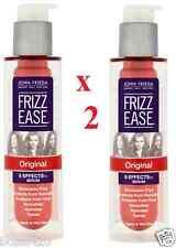 2 X John Frieda Frizz Ease original fórmula Suero de Cabello 50ml cada uno