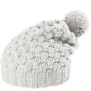7a1a801e5d5 Details about Women s Knit Wool Slouchy Winter YUTRO Beanie Ski Hat with Pom  OFFWHITE FUN302E