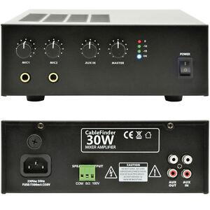 100V-30W-Mobile-Amplificatore-MINI-8ohm-Sistema-ALTOPRALANTE-PA-USB-12V-DC