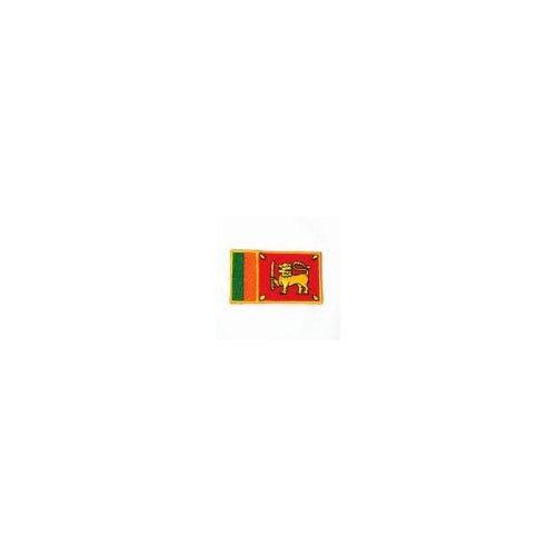 environ 6.35 cm Sri Lanka pays drapeau iron-on patch Crest Badge 1.5 X 2.5 in