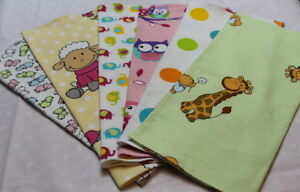 DECORATIVE-MUSLIN-FLANNEL-SQUARE-BABY-CLOTH-COLORFUL-REUSABLE-BIBS-NAPPY-FLANELA