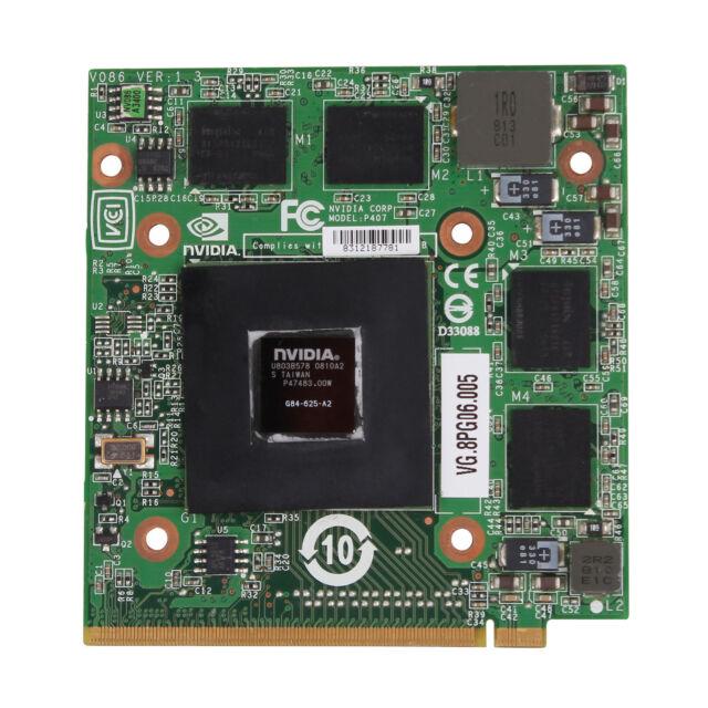 Acer Nvidia 9500M G84-625-A2 VG.8PG06.005 512MB MXM II Graphic VGA Video Card
