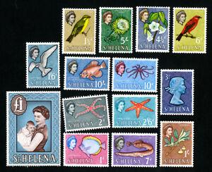 St-Helena-Stamps-159-72-VF-OG-LH-Catalog-Value-73-50