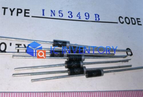 10pcs 1N5349B IN5349B IN5349 Zener diode 12V 5W DO-15