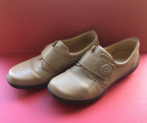 'sugar' Hotter Flat Eu38 Size 5 Ladies Uk5 Leather 5 Shoes Sand qtwE7F