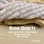 Matte Rose Quartz 8 Inch Strand LARGE HOLE Beads Heishi 3-5mm x 10mm