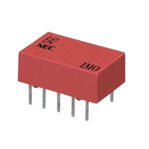 NEC EA2-12NU Relè  12Vcc   2 deviatori 1A x reed
