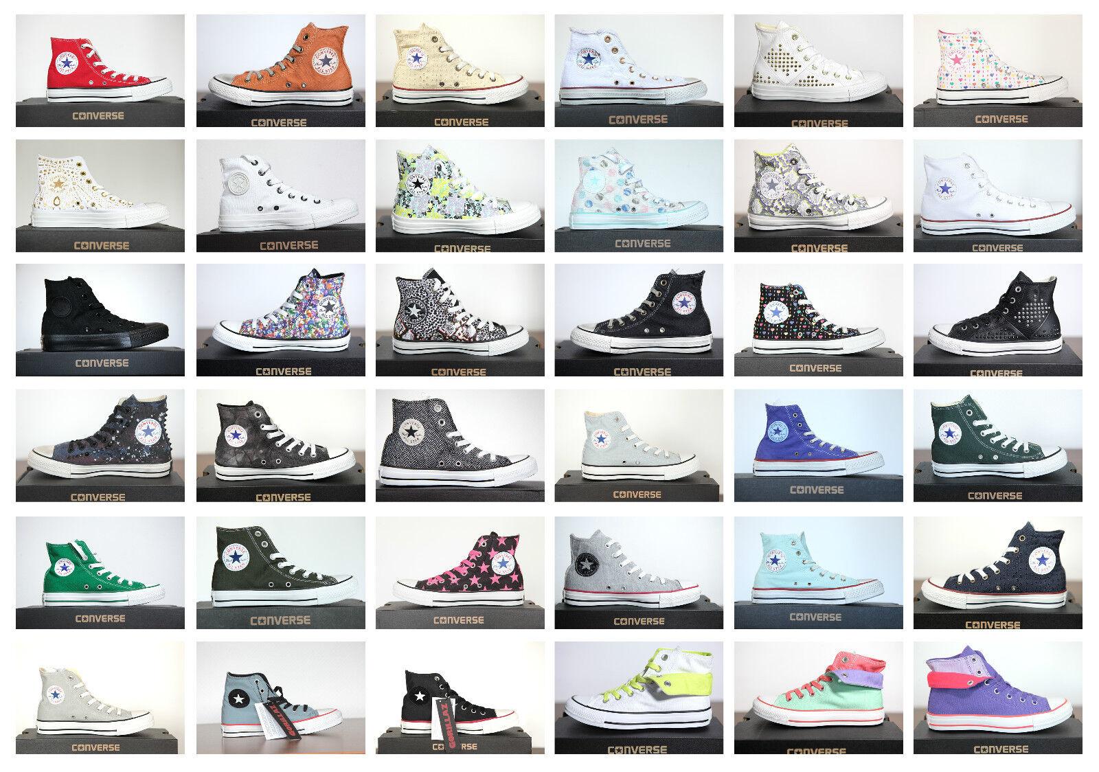 Neu Bll Star Converse Chucks Hi Leinen Damen Herren Sneaker viele Modelle