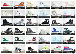 Nuevo-All-Star-Converse-Chucks-Hi-lino-senora-caballero-zapatillas-muchos-modelos