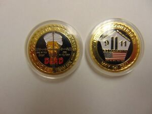 Details about CHALLENGE COIN FREE CAPSULE SHIPPING SEAL TEAM 6 OSAMA BIN  LADEN IS DEAD 9-11
