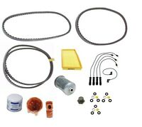 Volvo 240 244 245 Service Kit Drive Belts Filters Plugs Wire Set Rotor Cap on Sale