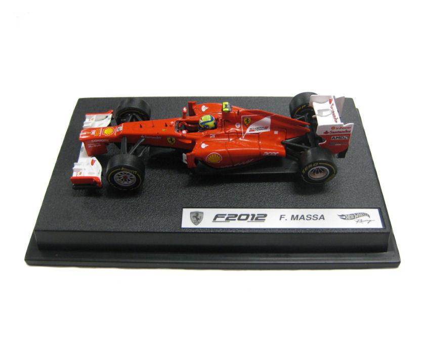 Ferrari F2012 Felipe Massa 2012 Hotwheels 1 43 X5523 NEW
