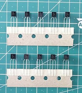 1503# lot de 10 transistor 2N5401 PNP TO92 pas de 2,54mm