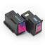 2 PACK PG245 XL Black Ink Cartridges For Canon PIXMA MG2920 MG2522 MG2924 MX492