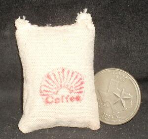 Market Coffee Sack 1:12 Store Western Dry Goods Miniature Cowboy #WO1905(1)