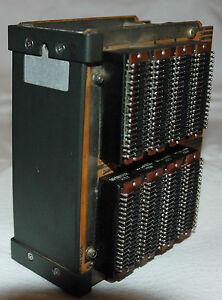 UNIVAC-1050-4k-CORE-MEMORY-STACK-7-PLANES-magnetic-ferrite-model-9150-10