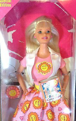 Mattel 1997 Special Edition Disney Fun 5th Edition Barbie Doll NRFB//NewOld Stock